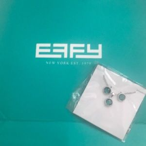New Effy Matching Earring and Necklace Set